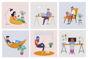 remote work allows you to customize your own office