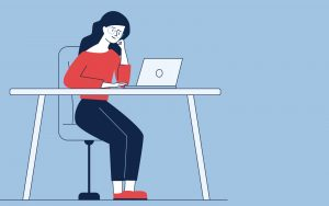 remote work can cause mental and physical stress