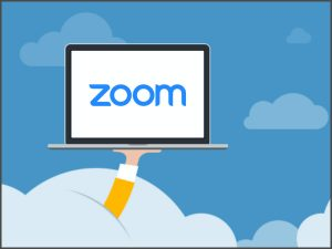 Zoom Application for online meeting