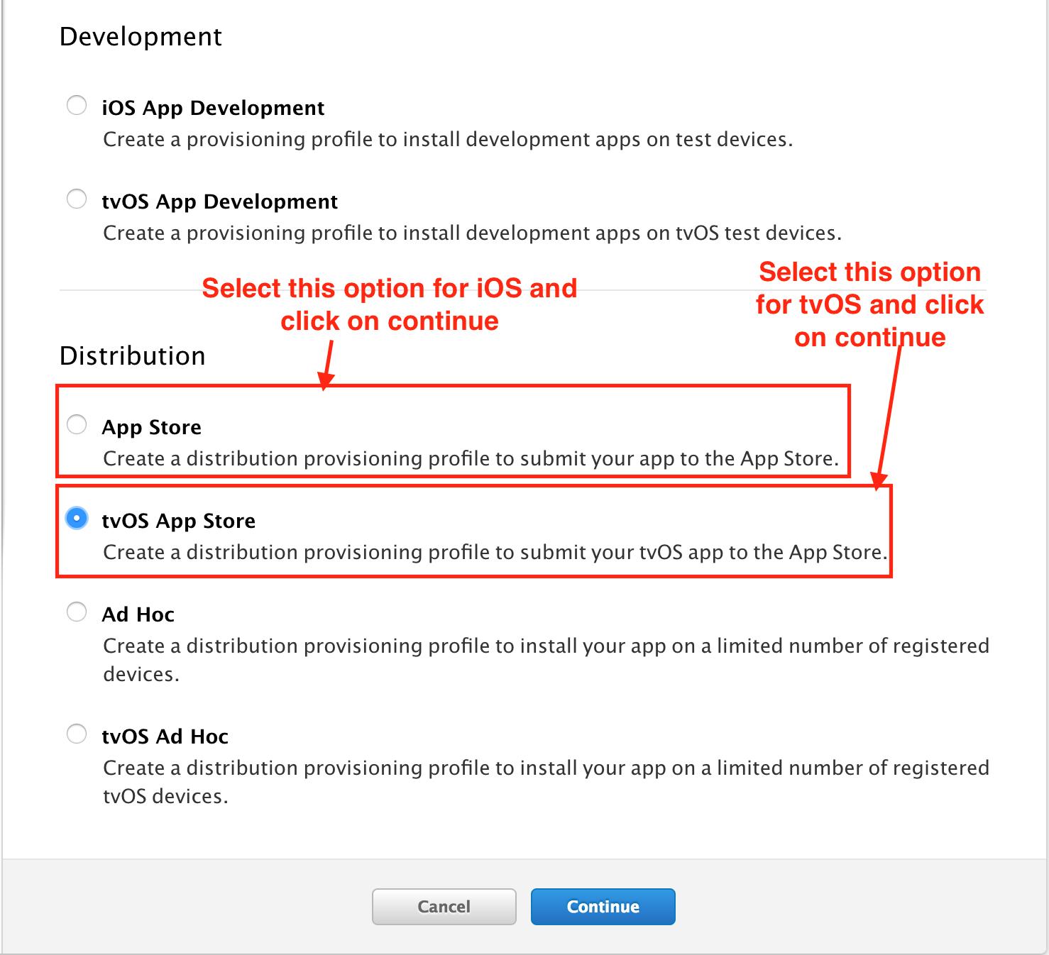 App Store- tvOS App Store