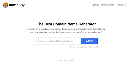 The Best Domain Name Generatr
